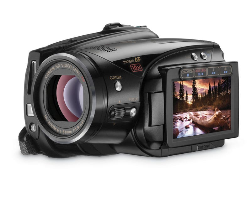 Illustration for article titled Canon Drops Five New Vixia HD Camcorders, Imaging and Storage Upgrades Across The Board