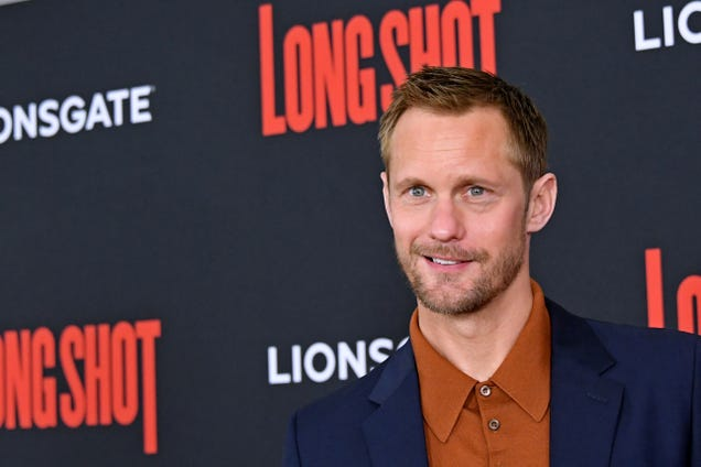 Hold up, Alexander Skarsgard will play Randall Flagg in The Stand