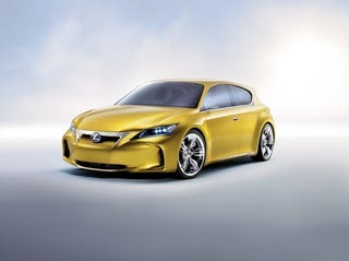 Illustration for article titled Lexus LF-Ch Concept: Exterior Photos