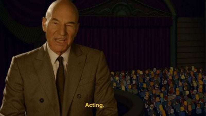 Illustration for article titled Patrick Stewart starring in a comedy series from Seth MacFarlane and Jonathan Ames
