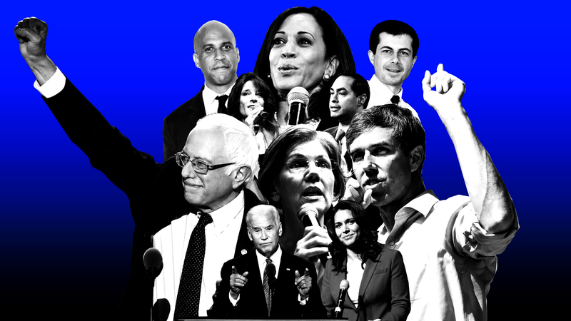 Illustration for article titled Castro Punches His Ticket, Harris Starts to Fidget and Yang Starts to Kick It: 2020 Presidential Black Power Rankings, Week 8