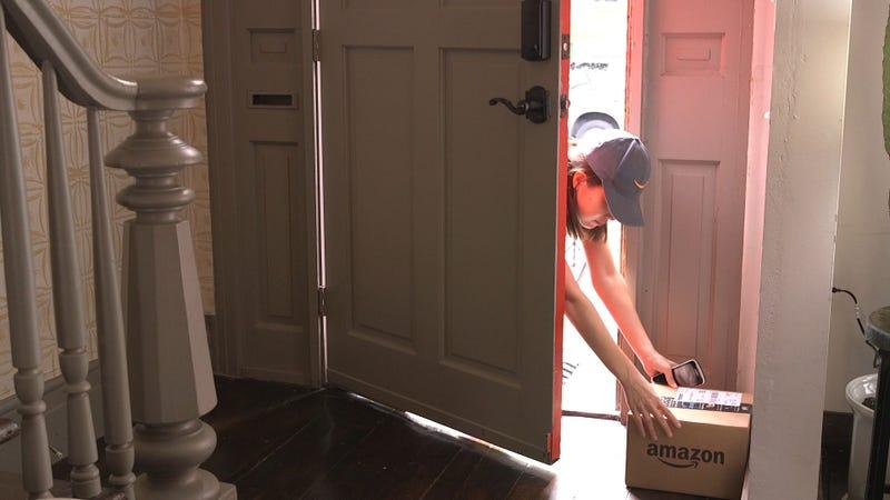 Amazon entra a tu casa a dejar tus paquetes
