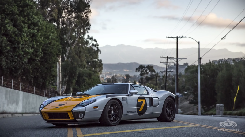 The All New Ford Gt Is A Futuristic Exotic Car That Pays Homage To The Legendary Gt But Some Would Say That The  Gt Is Perhaps A Better Embodiment Of