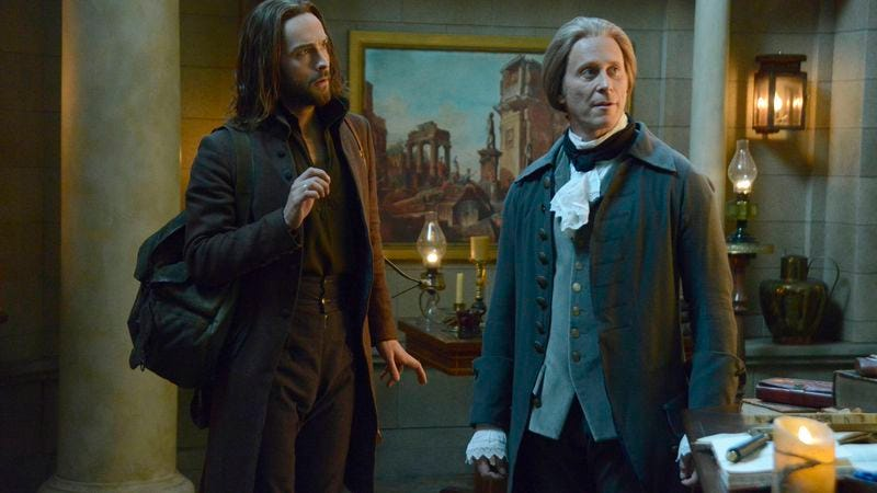 Tom Mison, Steven Weber (Fox)