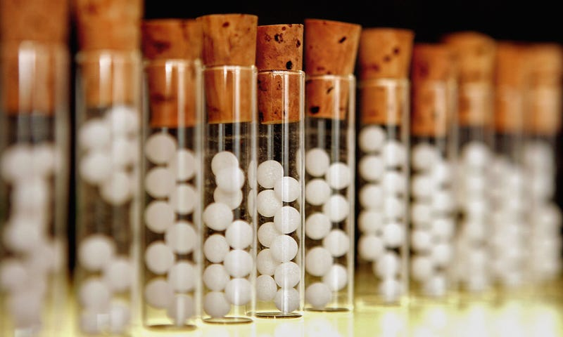 Homeopathic pills, which (if correctly manufactured) do nothing.