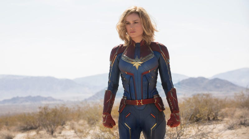 Illustration for article titled Captain Marvel Pulls Off Charm But Carries the Baggage of the MCU Universe
