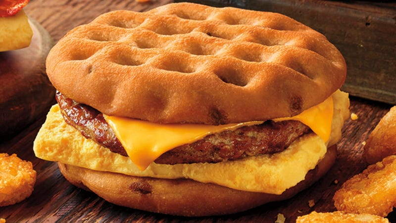 Burger King puts out waffle breakfast sandwiches and all people can talk about are sponges