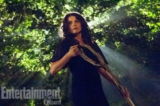 Illustration for article titled First look at pissed-off, magical Julia Ormond in Witches of East End