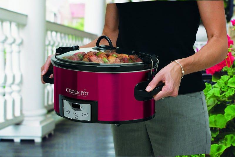 Crock-Pot 6-Quart Programmable Slow Cooker, $27 with coupon