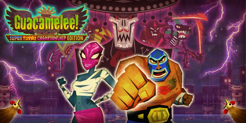 Illustration for article titled FREE on Steam: Guacamelee! Super Turbo Championship Edition