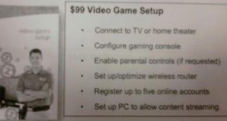 "Illustration for article titled Target To Offer $99 ""Video Game Setup"" Service"