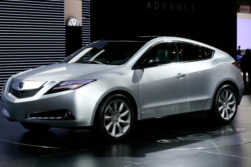 Acura Zdx Crossover One Of Everything
