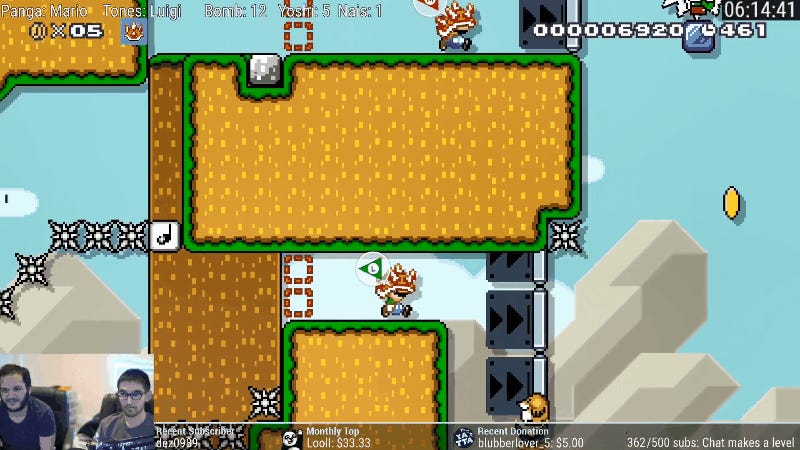 Ruin Friendships In A Kaizo Mario Maker Level Built For Two