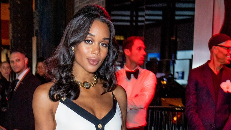 Laura Harrier attends the 2018 Met Gala after-party at the Standard Hotel on May 7, 2018, in New York City.