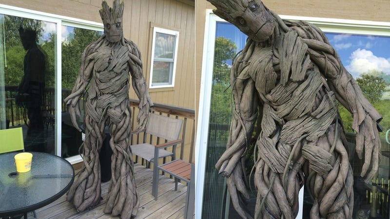 Illustration for article titled Colossal Groot Cosplay Will Stomp Into Your Heart