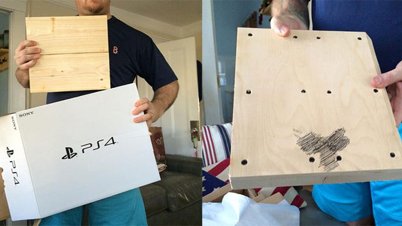 Boy Opens Christmas PlayStation 4, Finds A Block Of Wood With A ...