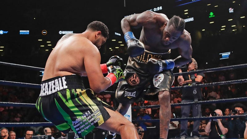 Deontay Wilder S Devastating Right Hand Gave Him A First Round