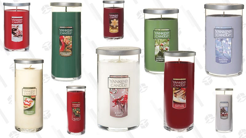 Buy 1 Pillar Candle, Get 2 Free at Yankee Candle