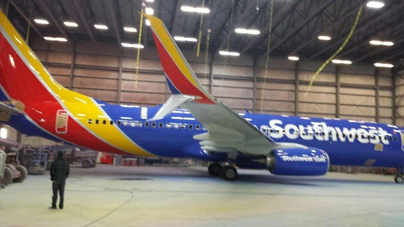 Illustration for article titled This Is Southwest Airlines' New Livery And Branding