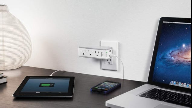 Travel Smarter With This Top-Selling Belkin Mini Surge Protector, On Sale Today Only