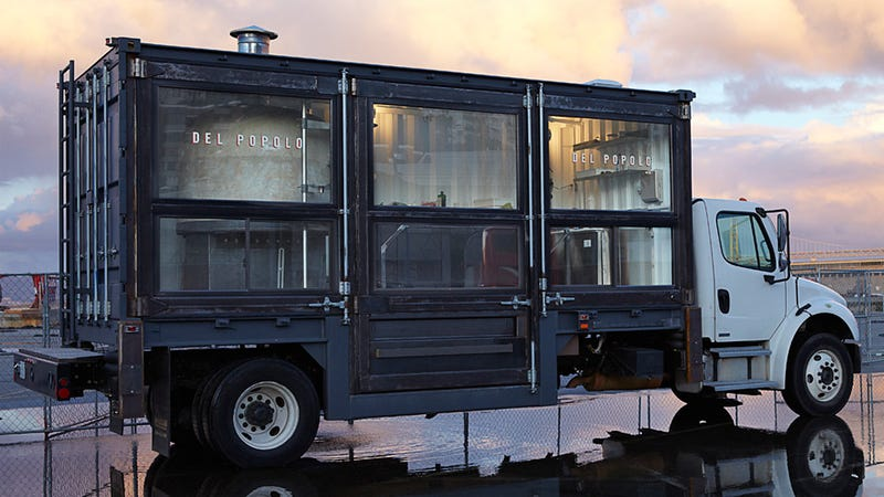 The 30000 Pound Pizzeria On A Truck