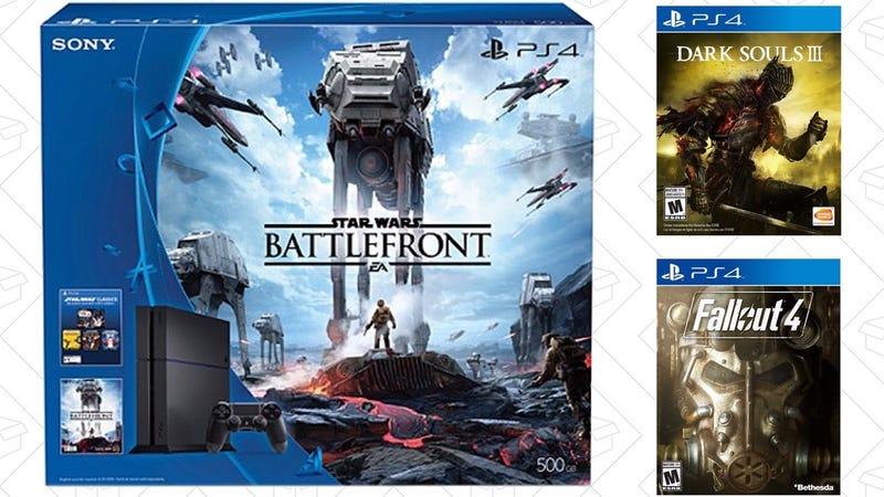 PS4 Battlefront Bundle + Fallout 4 + Dark Souls III, $389