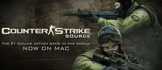 Illustration for article titled Counter Strike: Source Hits Mac, On Sale