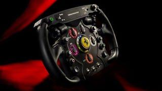 Illustration for article titled Thrustmaster's Ferrari F1 wheel makes us drool