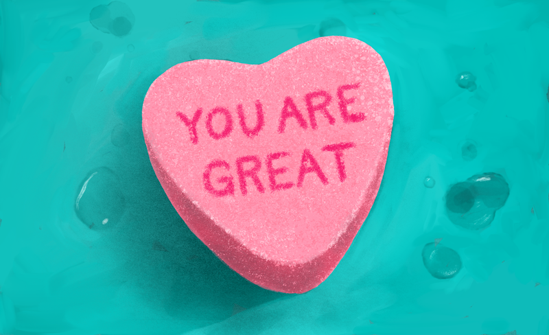 Illustration for article titled The Only Valentine's Day Message I Need