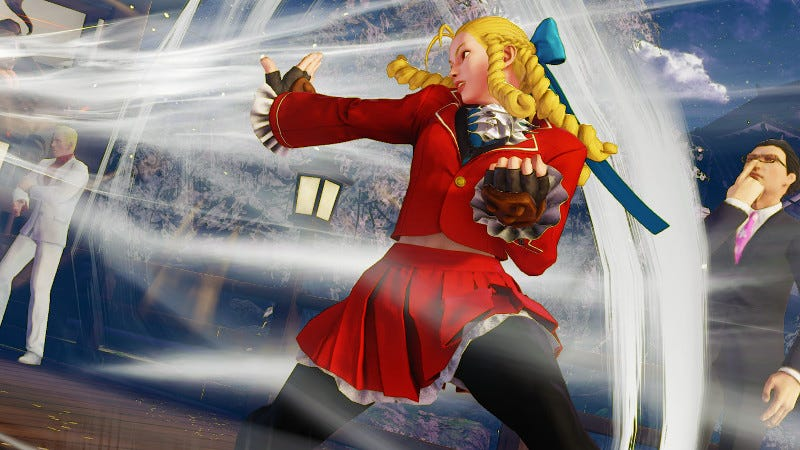 Illustration for article titled A Stumble In Street Fighter VOvershadows A Great Justin Wong Performance