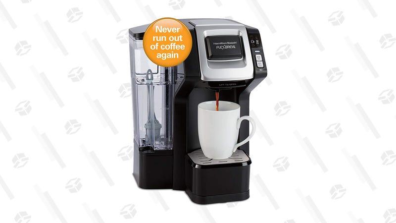 Hamilton Beach 49968 FlexBrew Connected Single-Serve Coffee Maker | $50 | Amazon