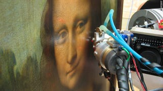 Illustration for article titled Scientists Crack Mona Lisa's Secret By X-Raying Her