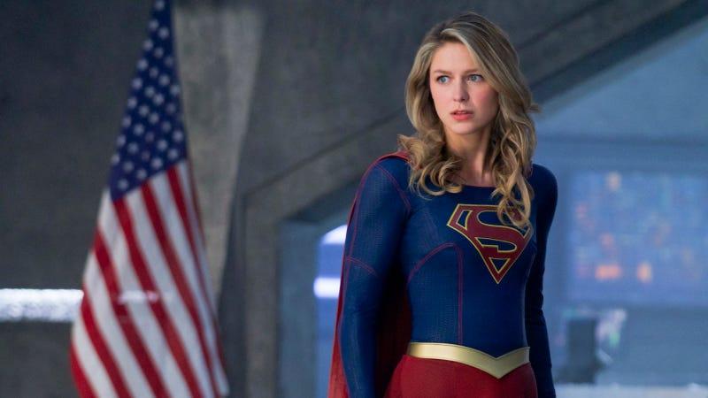 Melissa Benoist stars in Supergirl