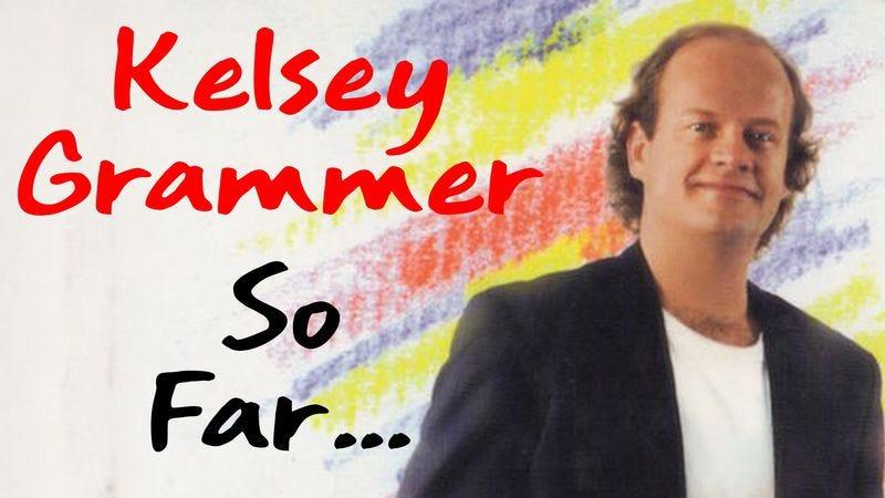 Illustration for article titled Kelsey Grammer doesn't even mention Sideshow Bob in his bizarre memoir So Far...