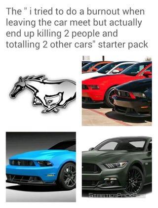 Illustration for article titled Mustang car show post shamelessly stolen from Imgur