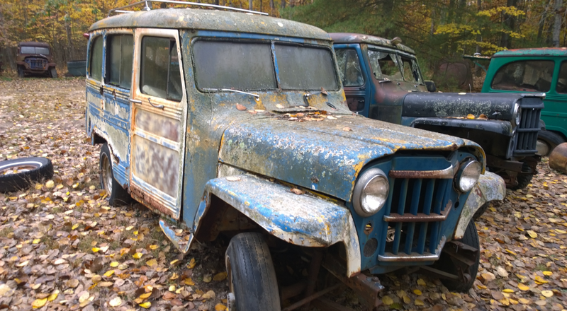Meet The Jeep Hoarder Who Saves Precious History From Rusty Oblivion