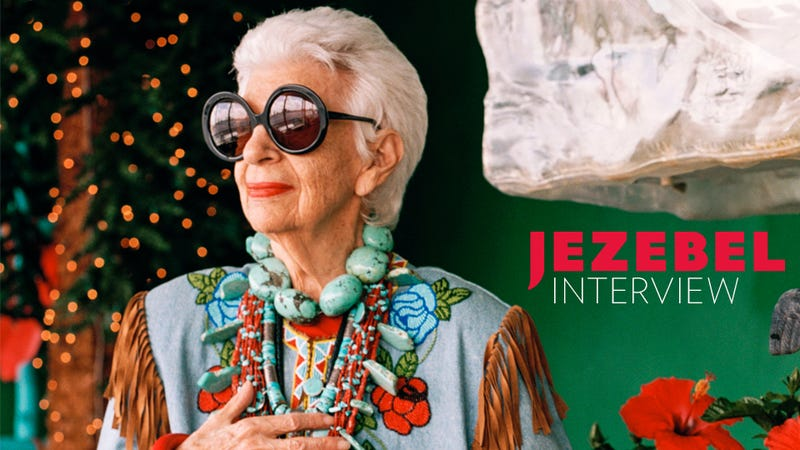 Illustration for article titled 'Just Do It': A Chat With Iris Apfel, Style Icon & Star of a New Film