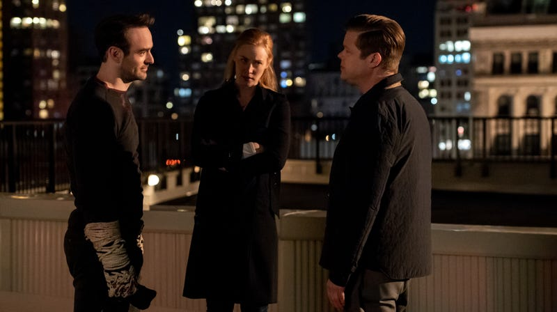 Illustration for article titled Daredevil is at its best when it's letting its main characters actually talk to each other