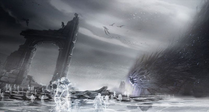 Illustration for article titled Demon's Souls' Pure White Christmas Starts Today