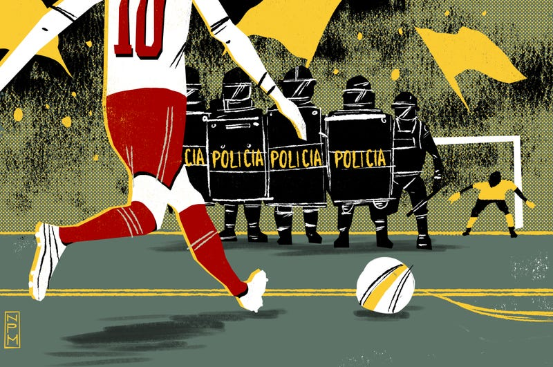Illustration for article titled Spectacle And Counter-Spectacle: Watching The Shadow World Cup