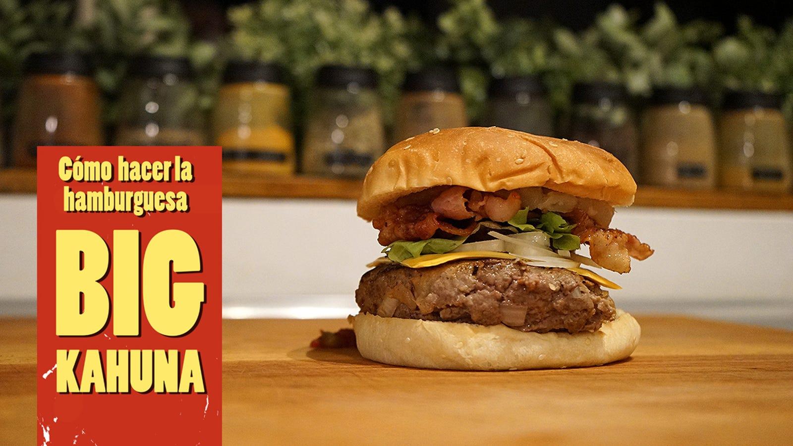 Cómo preparar la Big Kahuna, la hamburguesa original de Pulp Fiction