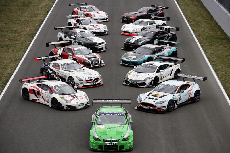 Illustration for article titled You Aren't Allowed to Dominate in GT3-spec Racing.