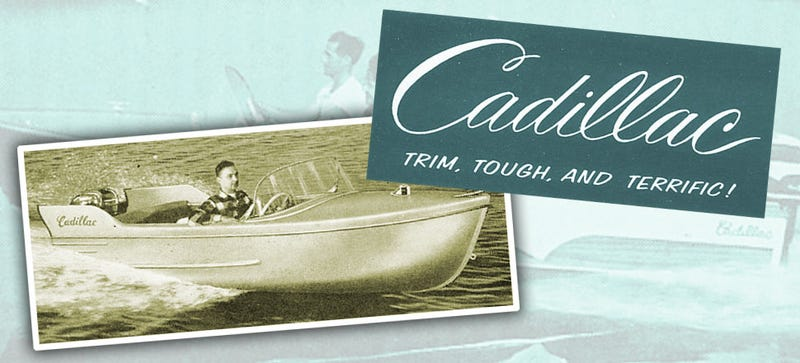 Illustration for article titled There Was A Cadillac That Made Literal Boats