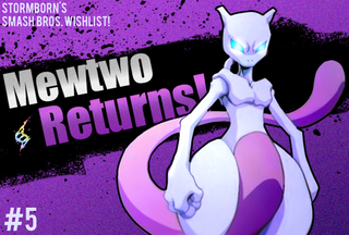 Illustration for article titled Smash Bros 4. Character Wishlist : Mewtwo!