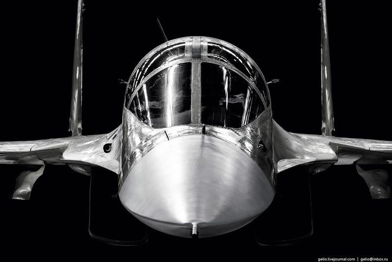 Galeria de imagens: Linha de montagem – Sukhoi Su-34 Fullback