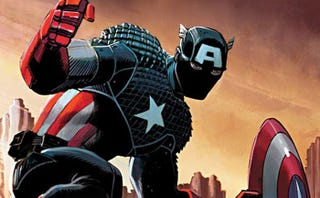 Image from Captain America vol. 7, issue #1 by John Romita Jr.