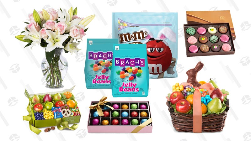 Easter candy, gift baskets, and fresh flowers Gold Box | Amazon
