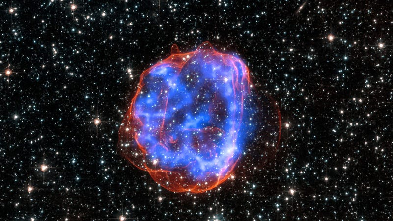 Illustration for article titled Astronomers Spot a Record-Breaking Supernova