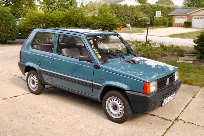 Illustration for article titled At $7,500, Could This Grey Market 1991 Fiat Panda 750 be a Small Miracle?