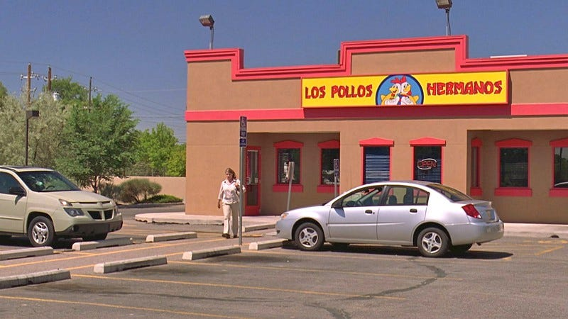 Illustration for article titled Vince Gilligan says Los Pollos Hermanos could become a real restaurant